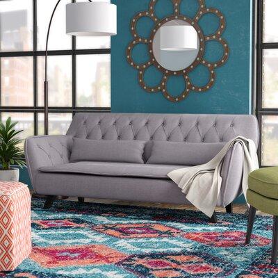 Slater Mill Mid-Century Modern Sofa Upholstery: Light Gray