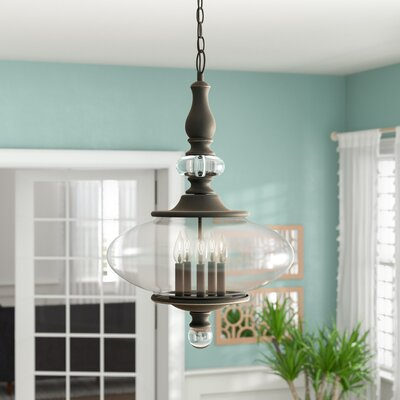 Patricia 5-Light Pendant Finish: Oil Rubbed Bronze