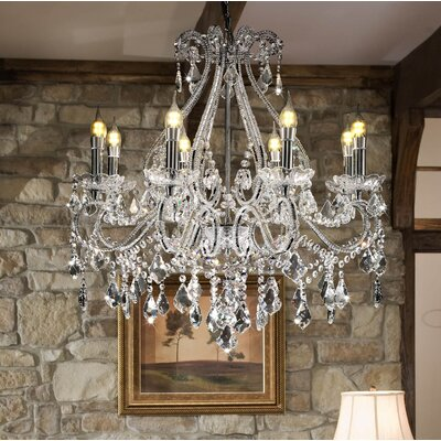 Moultry Candle-Style Chandelier