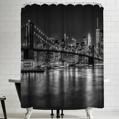 Melanie Viola New York City Nightly Impressions Shower Curtain