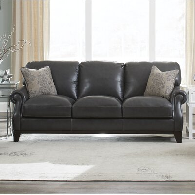 Cioffi Genuine Leather Sofa