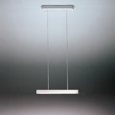 Talo 1-Light LED Kitchen Island Pendant Finish: Silver