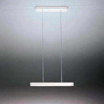 Talo 1-Light LED Kitchen Island Pendant Finish: White