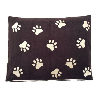 Dog Bed Pillow Color: Brown/Beige