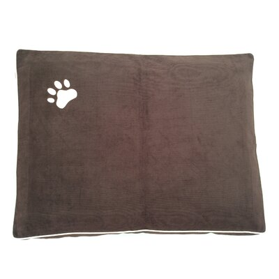 Dog Bed Pillow Color: Brown/ Beige