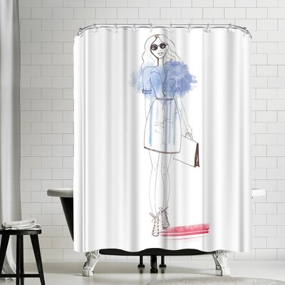 Alison B City Chic Shower Curtain