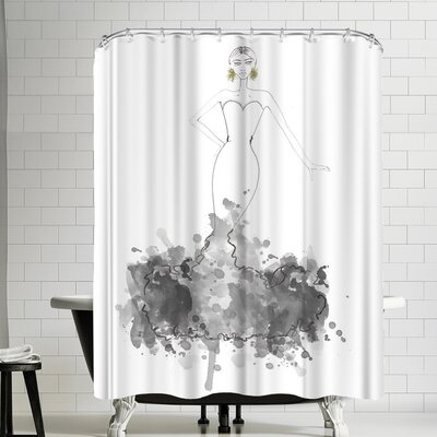 Alison B Couture Shower Curtain