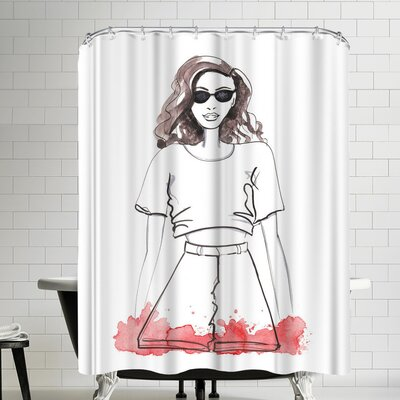Alison B So Cal Shower Curtain