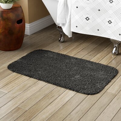 Brodersen Bath Rug Size: 24 x 40, Color: Black