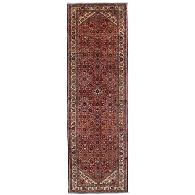 One-of-a-Kind Goodyear Hand-Knotted Wool Dark Copper Area Rug
