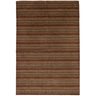 One-of-a-Kind Ballinderry Hand-Knotted Wool Light Brown/Red Area Rug