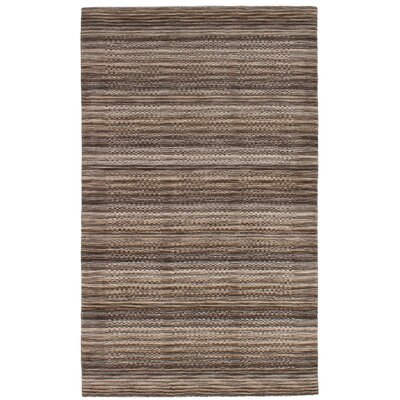 One-of-a-Kind Ballinderry Hand-Knotted Wool Brown Area Rug