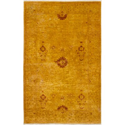 One-of-a-kind Gordan Hand-Knotted Wool Burnt Orange Area Rug