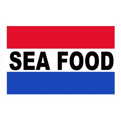Seafood Banner Size: 24
