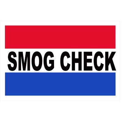 Smog Check Banner Size: 24