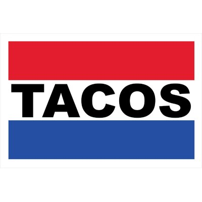 Tacos Banner Size: 24