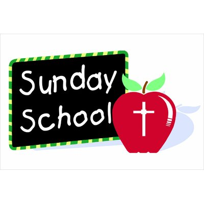 Sunday School Banner Size: 30