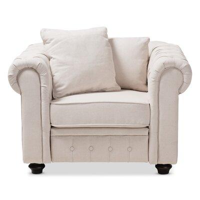 Kayser Armchair Upholstery: Beige
