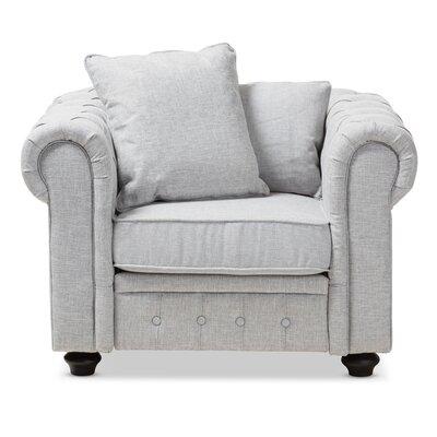 Kayser Armchair Upholstery: Gray