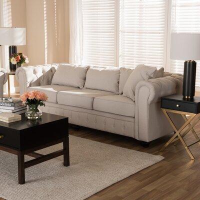 Kayser Sofa Upholstery: Tan