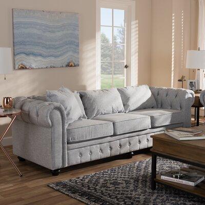 Kayser Sofa Upholstery: Gray