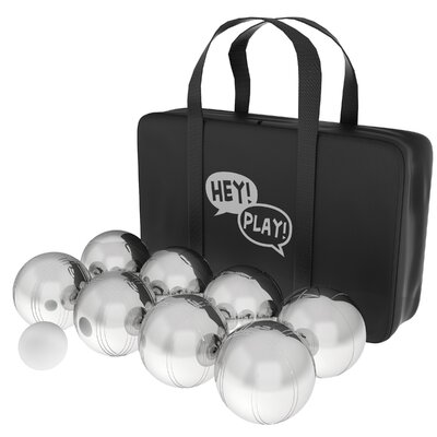 Steel 10 Piece Bocce & Bowling Set M350093