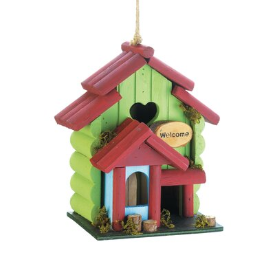 Sweetheart 8 in x 7.5 in x 5 in Birdhouse