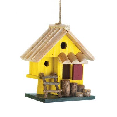 Tree Fort 8 in x 8 in x 4.5 in Birdhouse