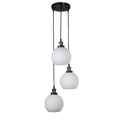 Dargan 3-Light Cluster Pendant