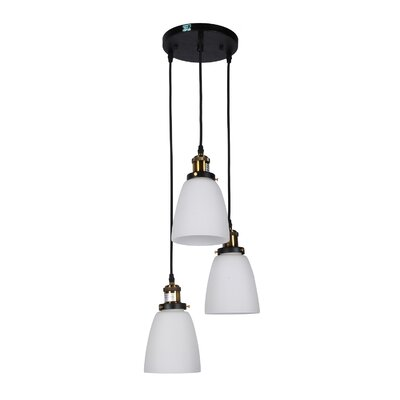 Volpe 3-Light Cluster Pendant
