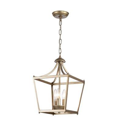 Planas 3-Light Lantern Pendant
