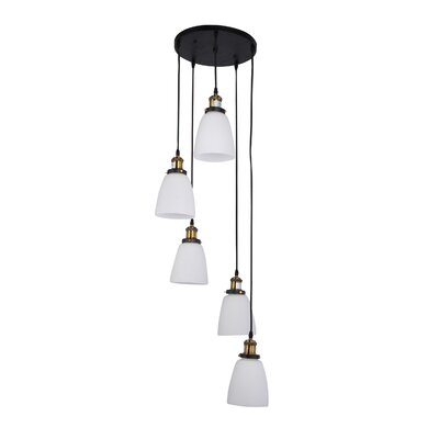 Voorhies 5-Light Cluster Pendant