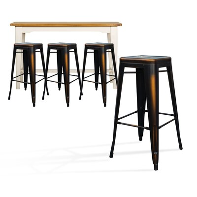 Mcabee Metal 29 Bar Stool