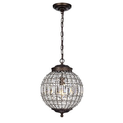 Acquah 1-Light Globe Pendant