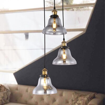Vosburg 3-Light Cluster Pendant