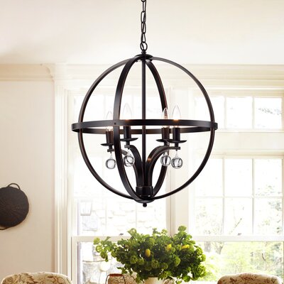 Randolph 4-Light Globe Pendant