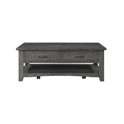 Hassinger Coffee Table Color: Gray