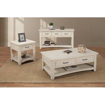 Hassinger 3 Piece Coffee Table Set