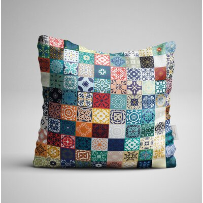 Avenida Small Mandalas Throw Pillow