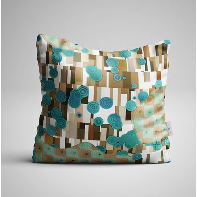 Boutte Buble Illusions Throw Pillow
