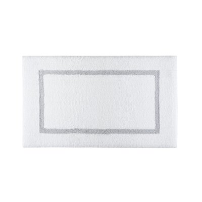 Lochinvar Double Tone Bath Rug Color: Silver