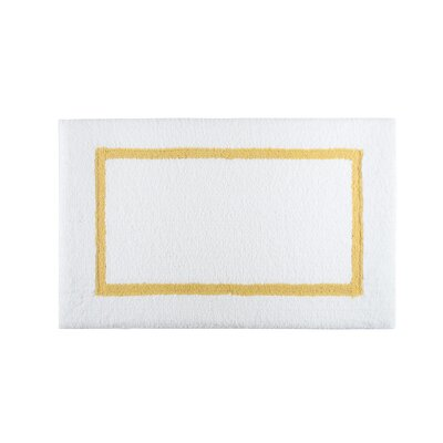 Lochinvar Bath Rug Color: Mustard
