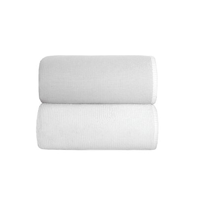 Lochinvar Double Tone Bath Sheet Color: Silver