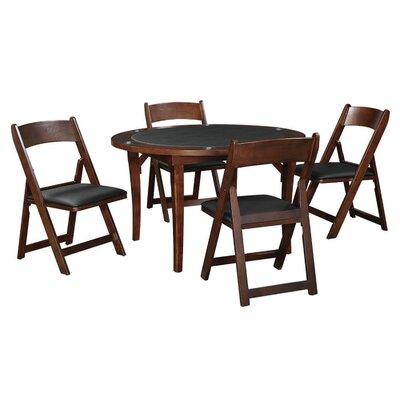 """48"""" Folding Poker Table Set FLDGTBLSET CAP"""