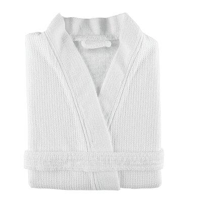 Gilmer Kimono Bathrobe Size: Small, Color: White