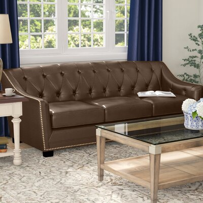 Tux Sofa Upholstery: Java Brown