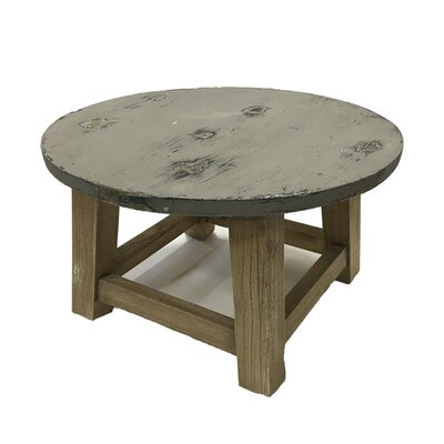 Ulmer Wooden Round End Table