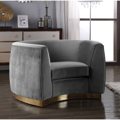 Antonsen Club Chair Upholstery: Gray