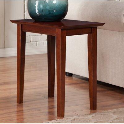 Oliver End Table Color: Walnut