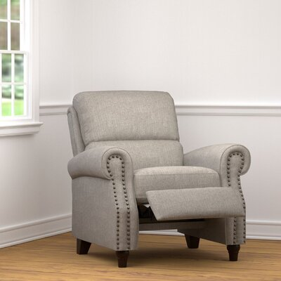 Hesse Manual Recliner Upholstery: Dove Gray